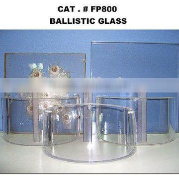 Ballistic resistant glass with iso&ce Cetification
