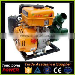 15M Lift 5M Suction 2 Inch Centrifugal Electric Gasoline Water Pump For Sale