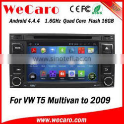 """Wecaro 7"""" WC-VU7006 Android 4.4.4 car multimedia system quad core for vw multivan t5 car audio stereo tv tuner"""