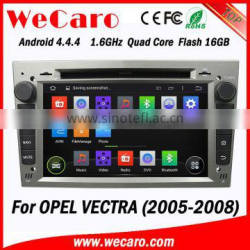 Wecaro Dual Zone Car Radio GPS RDS TV Ipod Android DVD CD Player for Opel Vectra 2005 2006 2007 2008