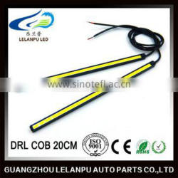 waterproof led lights 20cm cob drl daytime running light