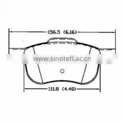 car brakes D794 272 401for Volvo fronts disc brakes