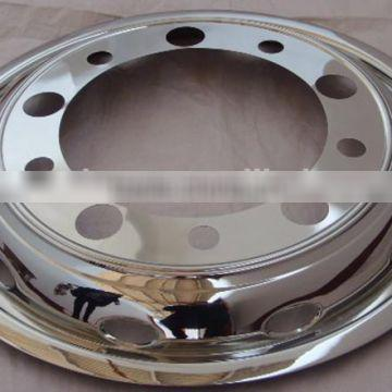 22.5 inch front universal stainless steel enjoliveur camion for truck/bus