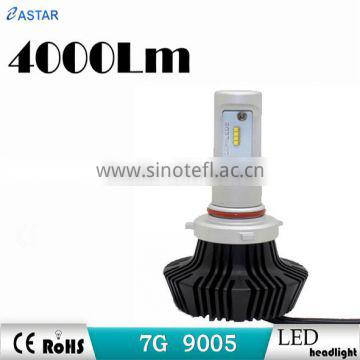 led headlight auto lamp 9005 perfect lighting pattern