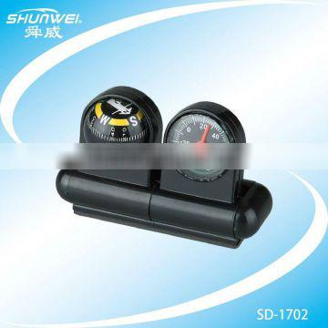 hot sale high precision car compass and thermometer in Fahrenheit