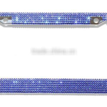 Royal rhinestone Bling Crystal License Plate Frames