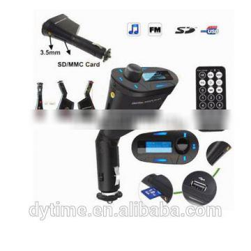 shenzhen factory promotion instructions car lighter mp3 player with fm transmitter