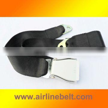 Luxury auto safety seat belt
