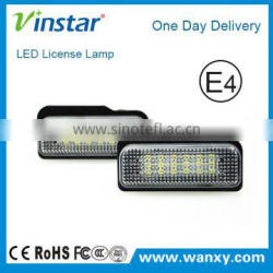 LED Moudle Plate Lamp Emark LED License Number Plate Lights for W211