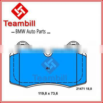 Auto parts for BMW E38 Disc brake pad