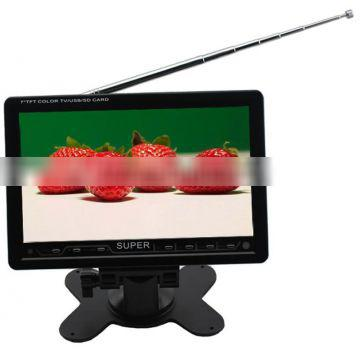 small 7 inch car tv monitor with usb,super 7 tft lcd tv monitor
