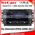 Wecaro WC-CU7011 Android 4.4.4 car dvd player touch screen for chevrolet epica dvd 2din WIFI 3G bluetooth 2006-2011