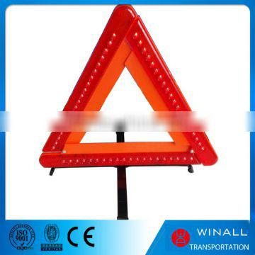 Top quality road safety product traffic led signal triangle for exporting