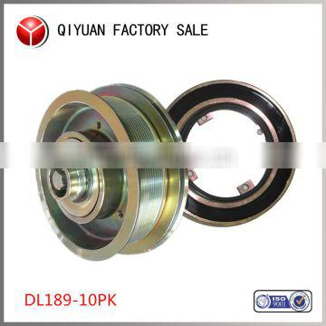 Qiyuan factory professional bus air conditioning clutch assembly (6DL189-10PK)