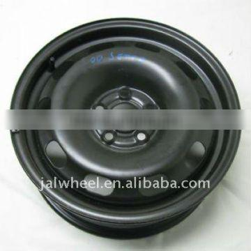14 Inch Black Steel Passenger Car Snow Wheels with CE certification