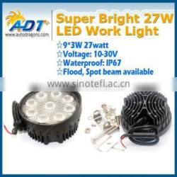 3w 1620 lumen spot/flood led work light