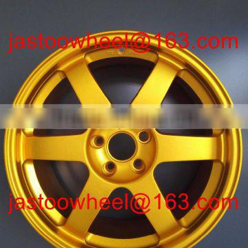 We are factory------replica wheel alloy rim 16 inch*5.5 inch forged alloy wheel