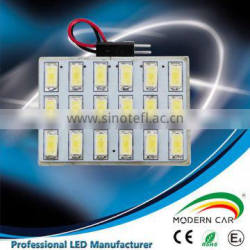 CE certification High power 5630 18SMD auto reading lights led panel lighting
