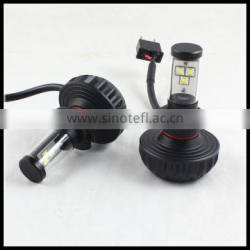 LED headlight bulb H8 H10 H11 H16 9005 9006 H4 H7 Cre.e 3000LM LED headlight car LED head light LED headlight bulb