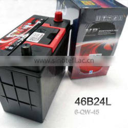 popular 36ah car starting battery 6-QW-45