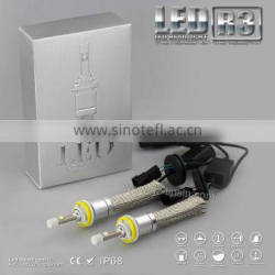 New arrival Single Beam H1 H3 H7 H8 H9 H11 9005 (HB3 H10 ) 9006 (HB4) 9012 auto led bulb fanless led headlight