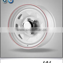 Best Quality White Eight Spokes Trailer Rim Trailer Wheel