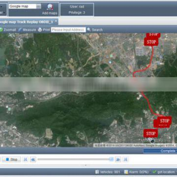 historycal routes replay gps tracking systems for history parking report