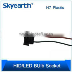 Auto HID/LED Bulb Socket/Holder H7 Angled Plastc