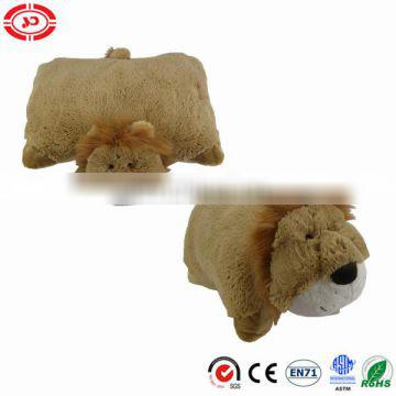 Popular best selling Lion buddies bed toy pillow cute cushion
