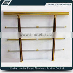 aluminium anodized aluminium handrail outdoor metal stair railing