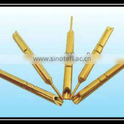 machine pins terminal brass contact printed circuit pin