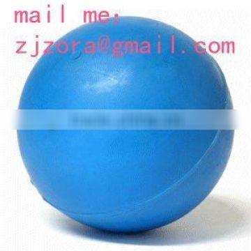 solid rubber ball