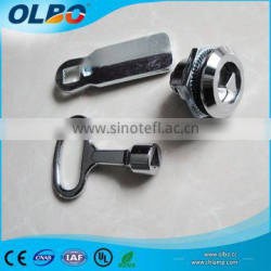 Chrome plated plastic spraying wooden door cylinder lock