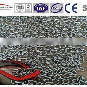 High Quality twisted dog chain with foam handles Manufacture Competitive price