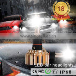 All in one car lighting from China supplier universal auto led 3C H1 H3 H7 H11 H4 9006 30w 6030 aluminum car led headlight bulb