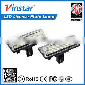 car astern auxiliary lamp 18led license plate lamp highlight the license plate light high power led back light