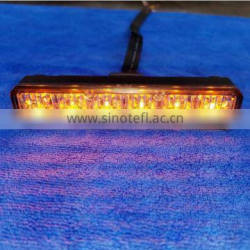 Auto Led parts Red Blue Amber 12v Led Grill Strobe Light Bars