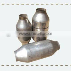 HIGH FLOW 2 1/2 INCH STAINLESS STEEL CATALYTIC CONVERTER