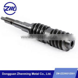 Custom precision metal fixed gear spur and helical gears machine center gear