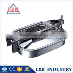 Stainless Steel Tank Parts Rectangular Manhole Covers