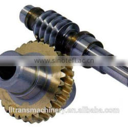 lathe worm gear and worm shaft