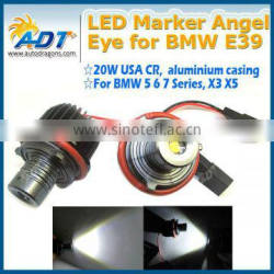 6000k super bright USA CR e39 e60 e39 led angel eyes for bmw e60