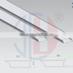 High quality aluminum extrusion profile used for kitchen cabinet frame door
