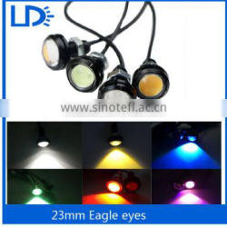 Factory price 12v auto led spot light eagle eye daytime running light 3w*2 eagle eye hid lights