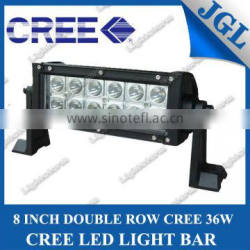 cree 36w offroad driving work lamp,cheap led light bars,double row strip lighting 9-32v