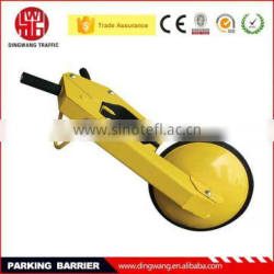 2015 Popular Yellow Metal Handle Parking Remote Safe Lock