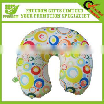 Customized Logo Promotional Styrofoam Travel Pillow