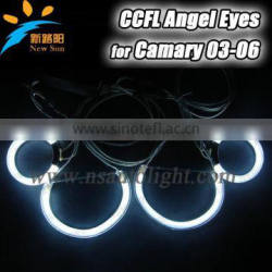 Quality guaranteed ccfl angel eyes for toyota camry, eye appealing ccfl angel eyes lamp