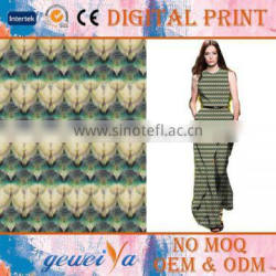 High Quality Digital Printing Polyester Spandex Fabric