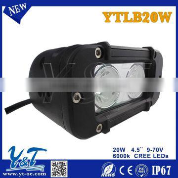 4.6INCH 20W FLOOD SPOT ALLOY LED WORK LIGHT BAR 4WD BOAT UTE DRIVING LIGHTS 126W/72W/120W